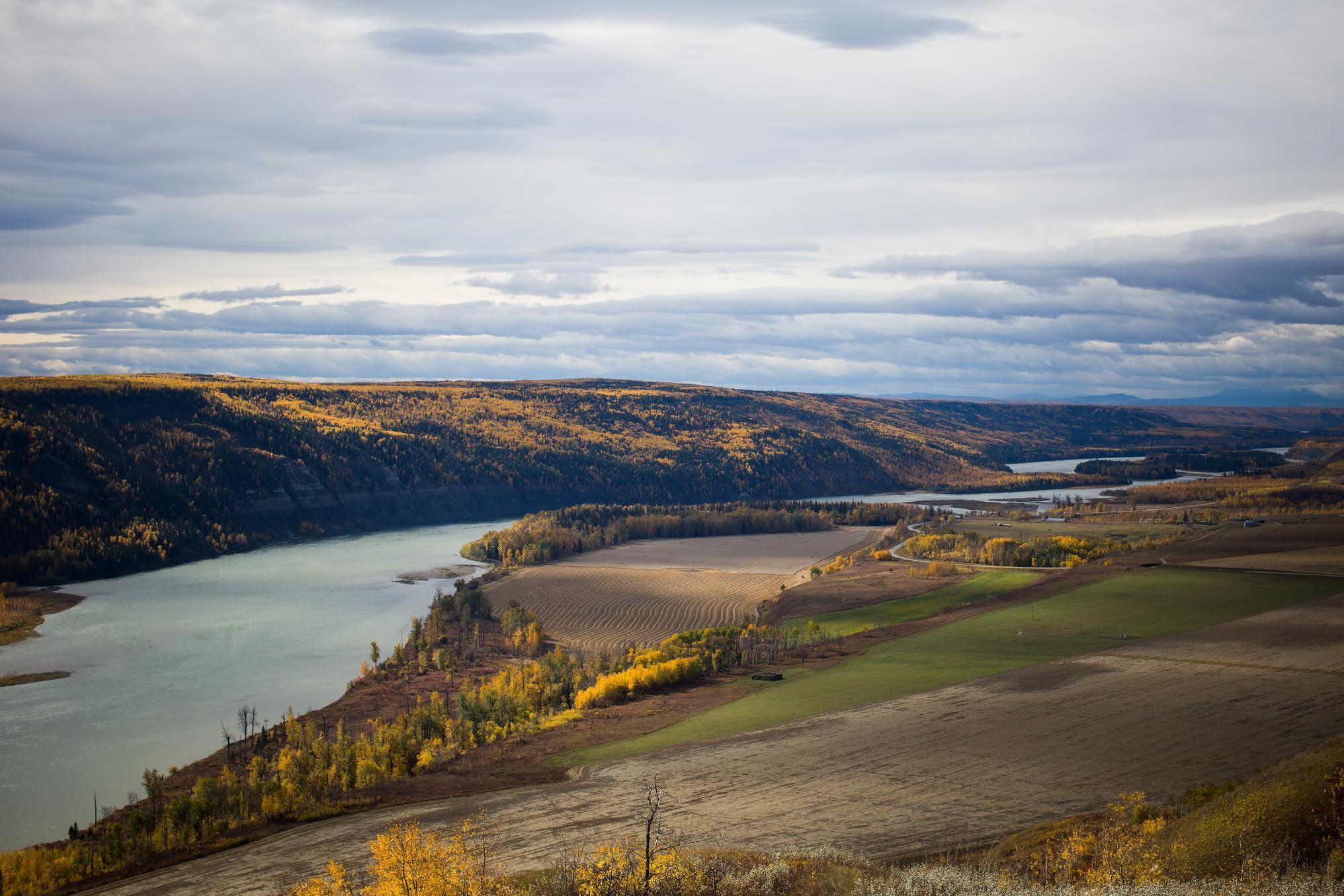 Ben Nelms photo of Peace River Farmland