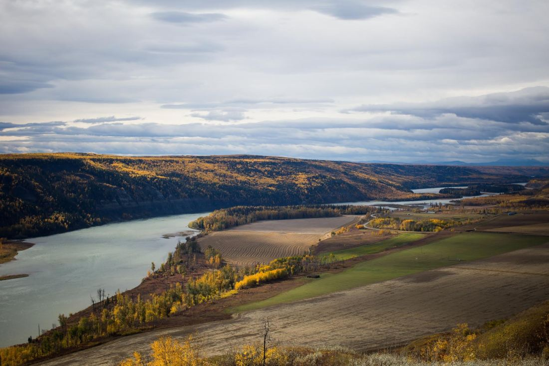 Ben Nelms photo of Peace River Farmland