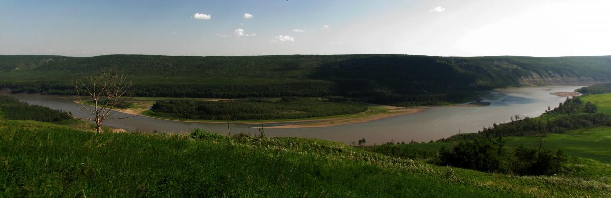 Photo 1 Peace River Valley- Photo by Robin