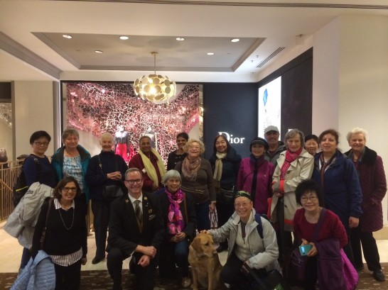 A tour behind the scenes at the the Hotel one of many excursions organized at no charge to 411 members!